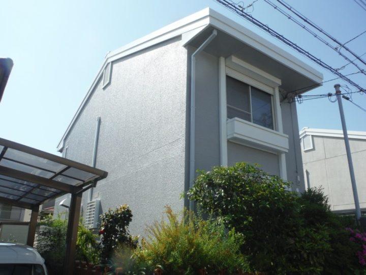 和泉市和気町 S様邸 外壁 屋根 付帯 塗替え