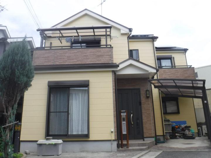 和泉市 Y様邸 外壁・屋根その他塗替え工事