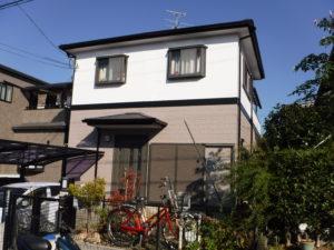 大阪狭山市 I様邸 外壁・屋根その他塗装工事