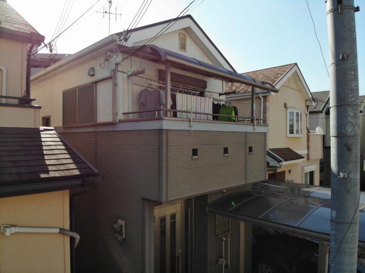 和泉市S様邸外壁塗装・屋根塗装工事