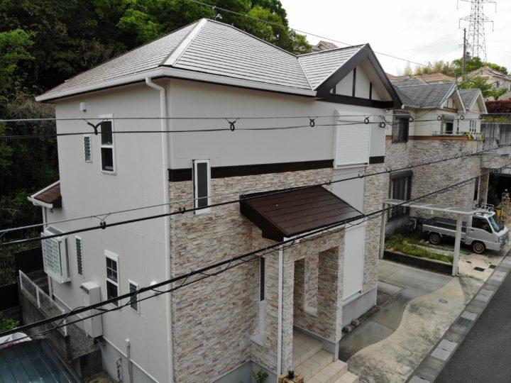 和泉市K様邸外壁塗装・屋根塗装工事