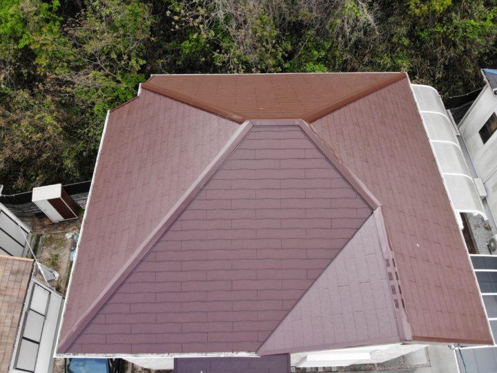 和泉市のK様邸 外壁塗装・屋根塗装工事