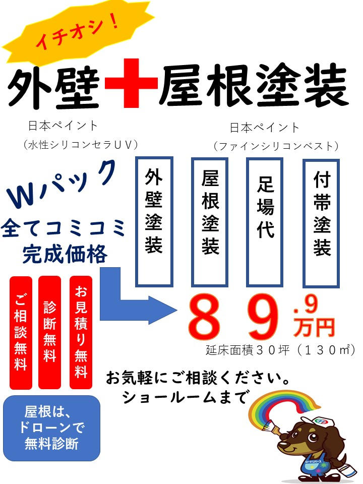 和泉市の外壁塗装・屋根塗装専門店ロードリバース1436