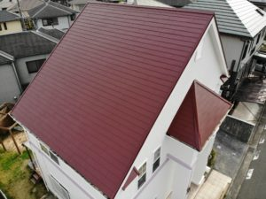 和泉市N様邸屋根塗装工事