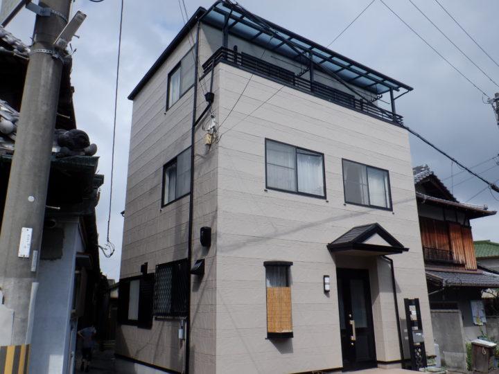和泉市F様邸外壁塗装・屋根塗装工事