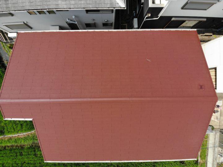 和泉市E様邸屋根塗装工事