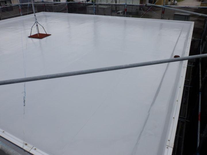 屋上塗装工事