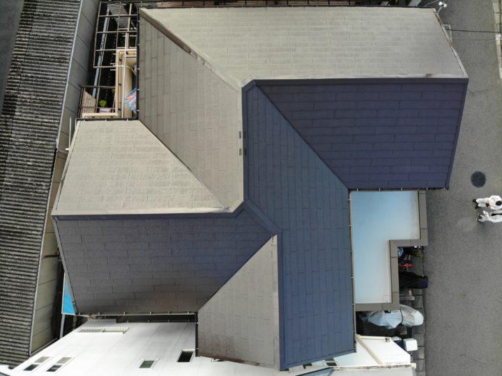 和泉市T様邸屋根塗装工事
