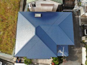 和泉市K様邸屋根塗装工事