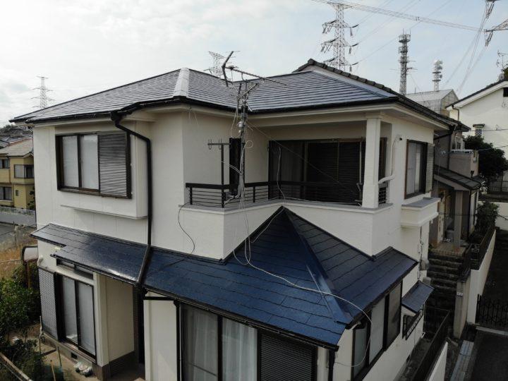 和泉市W様邸外壁塗装・屋根塗装工事