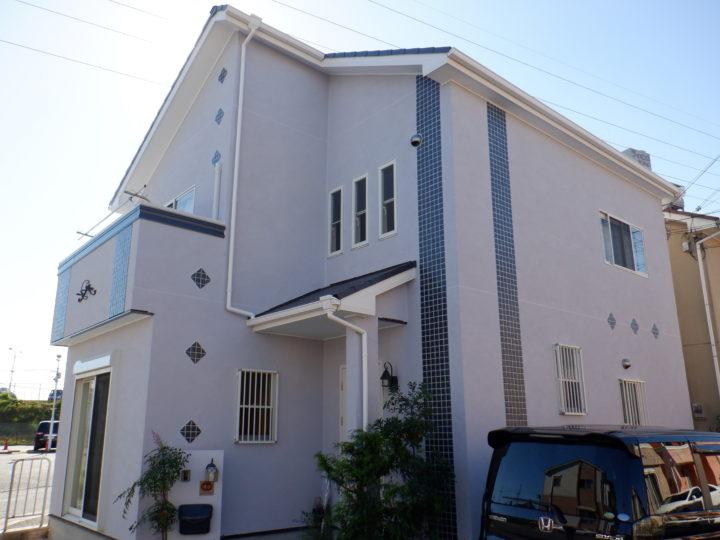 大阪狭山市W様邸外壁塗装・屋根塗装工事