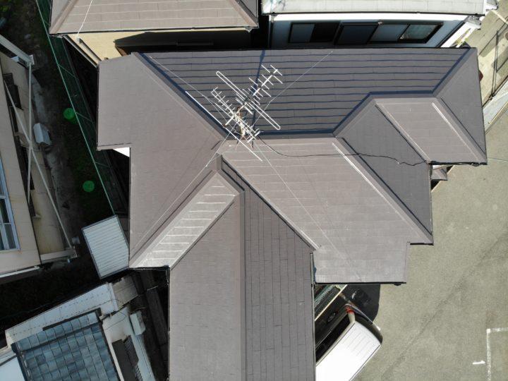 和泉市U様邸屋根塗装工事