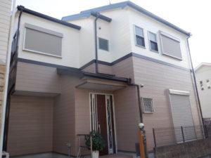 和泉市M様邸外壁塗装・屋根塗装工事
