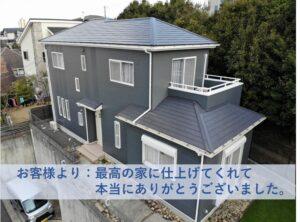 和泉市M邸外壁塗装・屋根塗装工事