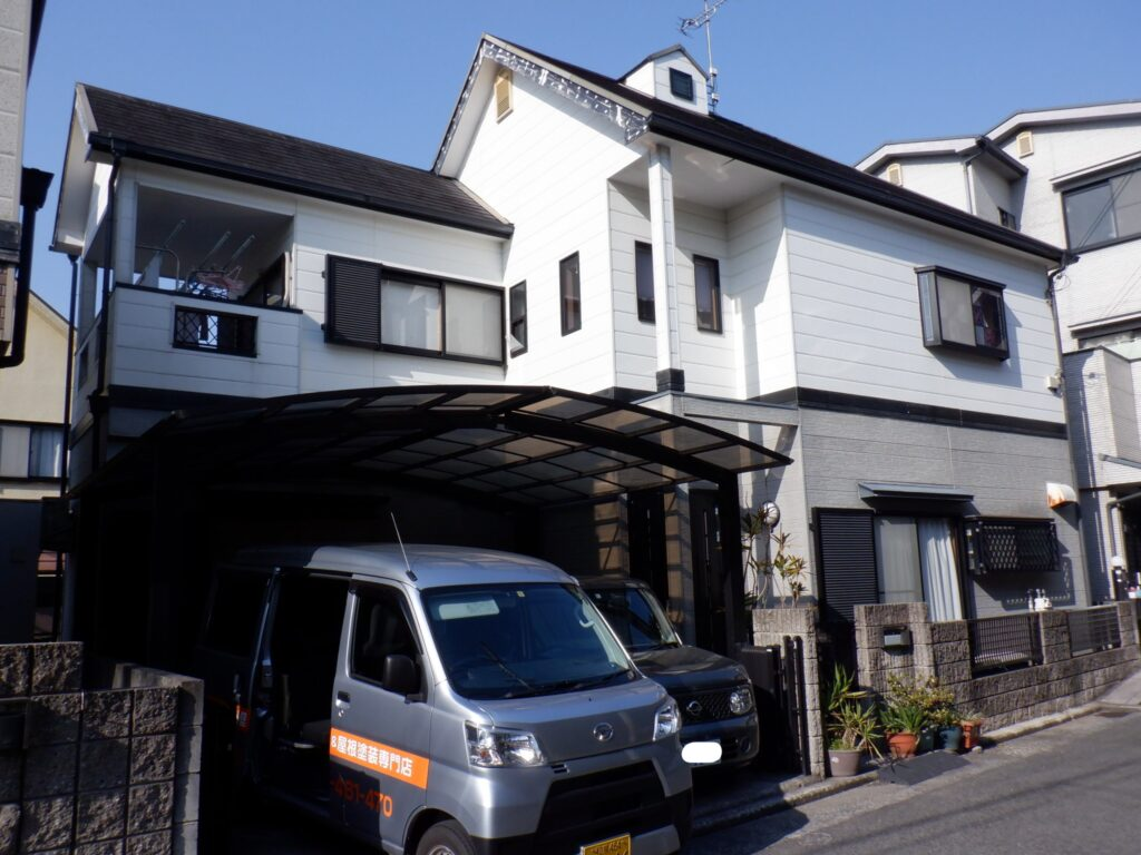 和泉市・泉大津市の外壁塗装・屋根塗装専門店ロードリバース 施工前