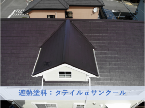 堺市南区N様邸屋根塗装工事